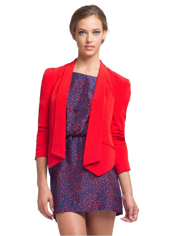Rebecca Minkoff Becky Jacket- Red