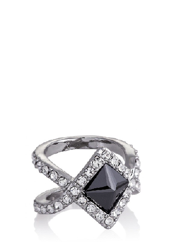 Rebecca Minkoff Flipped CZ & Pave Ring