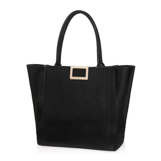 ROGER VIVIER INES LARGE SHOPPING BAG IN LEATHER