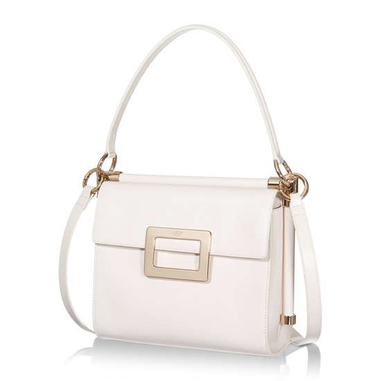 ROGER VIVIER MISS VIV SMALL SHOULDER BAG IN LEATHER