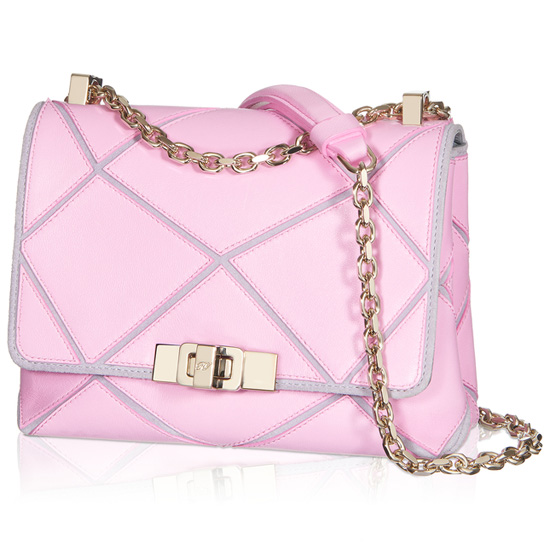 ROGER VIVIER MICRO PRISMICK SHOULDER BAG IN LEATHER