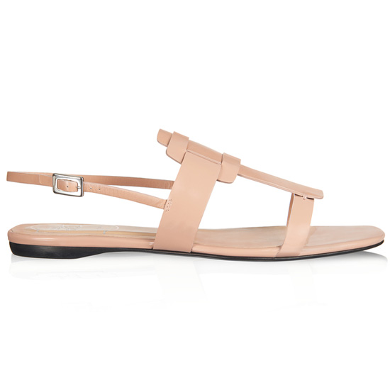ROGER VIVIER SEXY PILGRIM SANDAL IN LEATHER