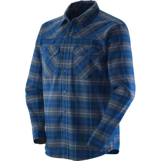 SALOMON MOUNTAIN FLANNEL SHIRT M