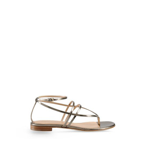Sergio Rossi SHADOWS Pink gold Flat Sandal