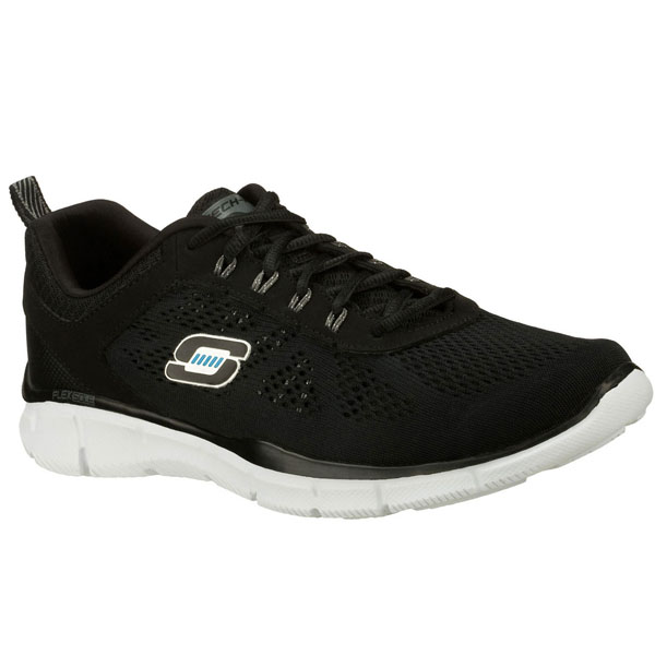 SKECHERS MEN EQUALIZER - DEAL MAKER Black/White