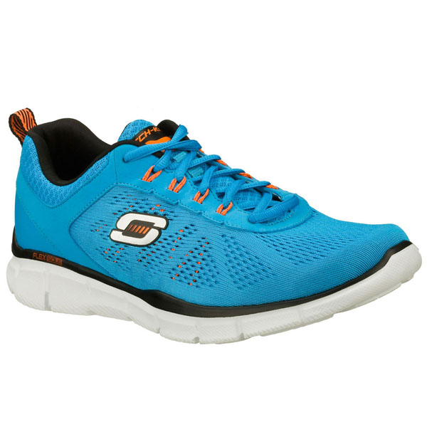 SKECHERS MEN EQUALIZER - DEAL MAKER Blue/Orange