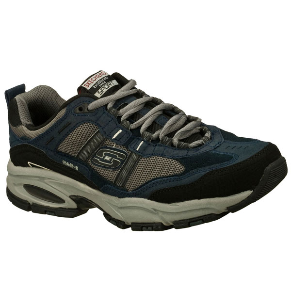 SKECHERS MEN VIGOR 2.0 - TRAIT Navy/Gray