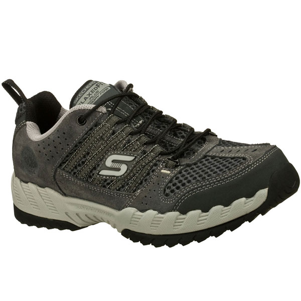 SKECHERS MEN RELAXED FIT: OUTLAND Charcoal