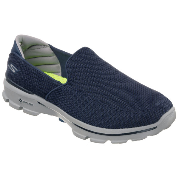 SKECHERS MEN GOWALK 3 Navy/Gray