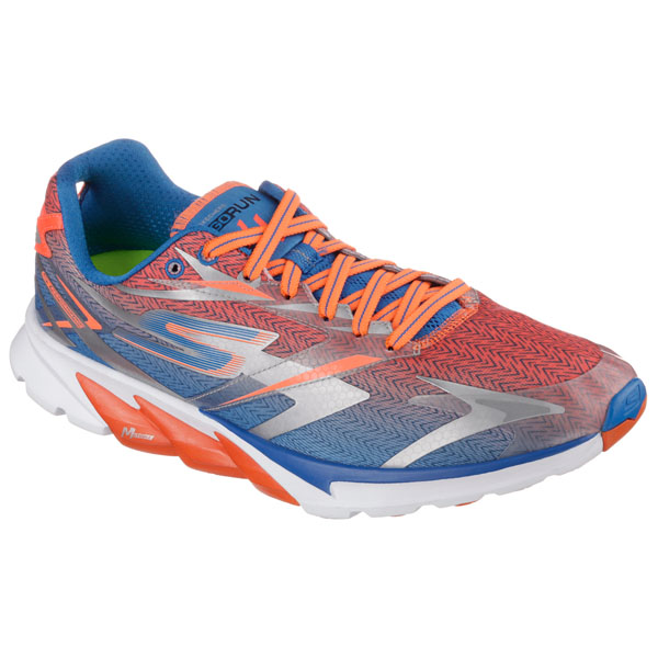 SKECHERS MEN GORUN 4 Blue/Orange