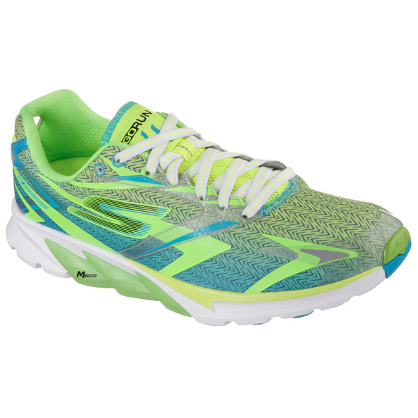 SKECHERS MEN GORUN 4 Lime/Blue