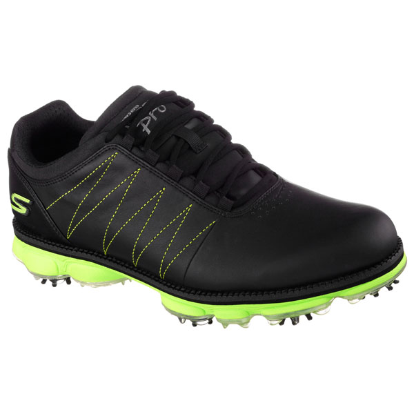 SKECHERS MEN GO GOLF PRO - MATT KUCHAR OFFICIAL Black/Lime