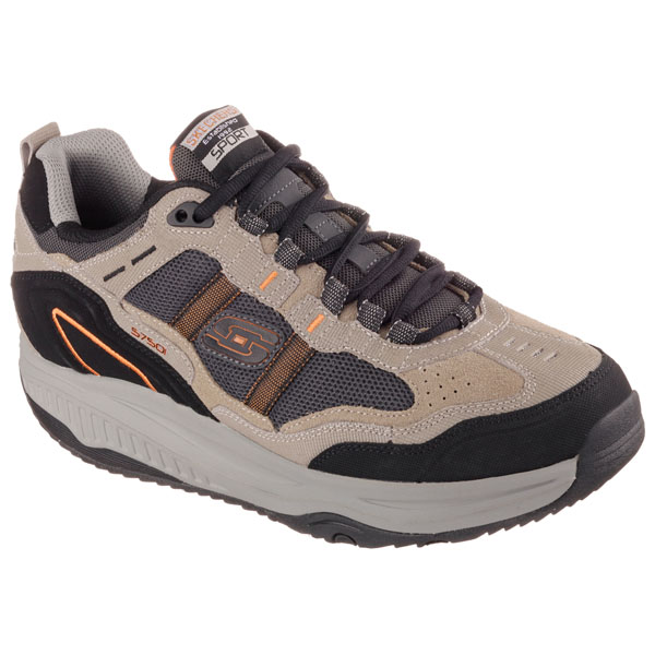 SKECHERS MEN SHAPE-UPS 2.0 XT Taupe/Black