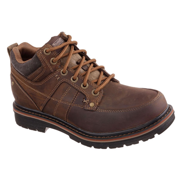 SKECHERS MEN RELAXED FIT: MARCELO - TOPEL Brown