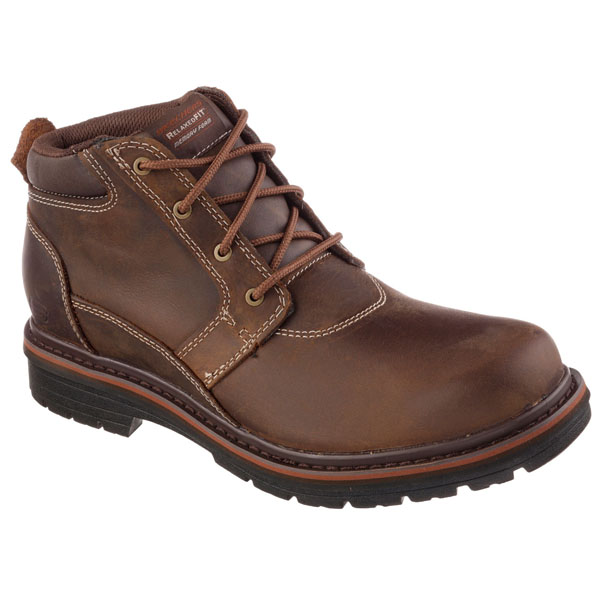 SKECHERS MEN RELAXED FIT: MARCELO - OAKDALE Brown