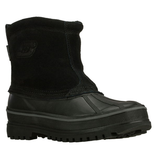 SKECHERS MEN REVINE Black