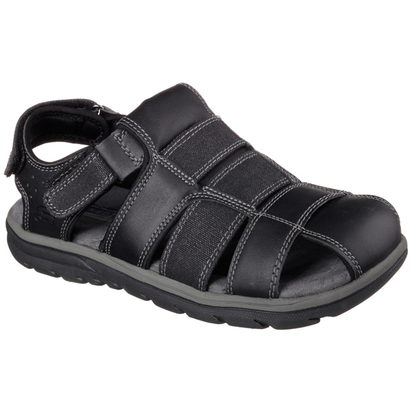 SKECHERS MEN RELAXED FIT: SUPREME - OLVERO Black