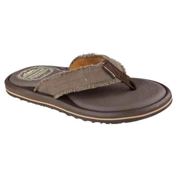 SKECHERS MEN RELAXED FIT: TANTRIC - LUCIAN Chocolate