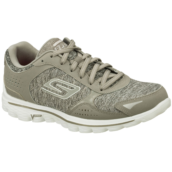 SKECHERS WOMEN GOWALK 2 - FLASH GYM Gray