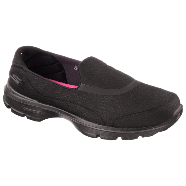 SKECHERS WOMEN GOWALK 3 - REVIVE Black