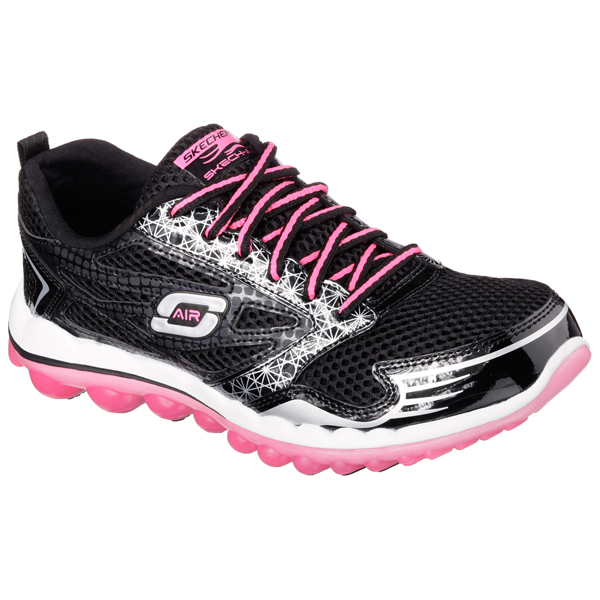 SKECHERS WOMEN SKECH-AIR 2.0 - CLEAR DAY Black/Hot Pink