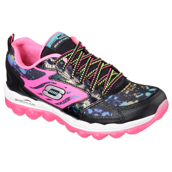 SKECHERS WOMEN SKECH-AIR - MIND BENDER Black/Mult
