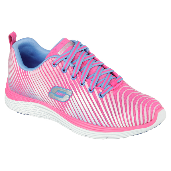 SKECHERS WOMEN RELAXED FIT: VALERIS - PERFECT STORM Pink/Purple