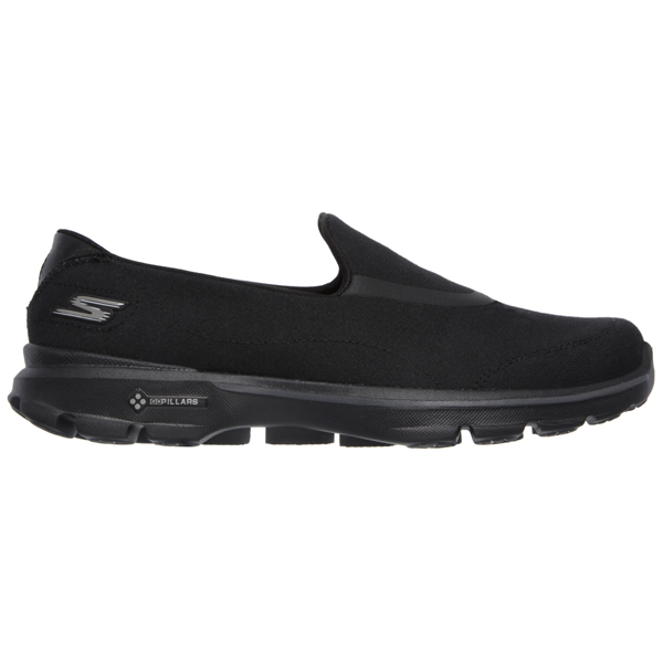 SKECHERS WOMEN GOWALK 3 - SPRING LITE Black