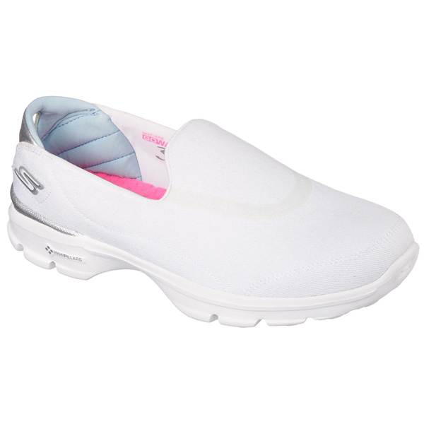 SKECHERS WOMEN GOWALK 3 - SPRING LITE White