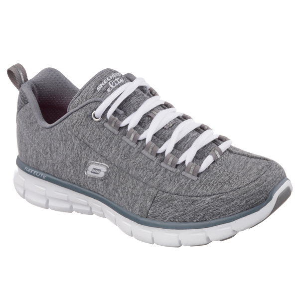 SKECHERS WOMEN SYNERGY - SPOT ON Gray