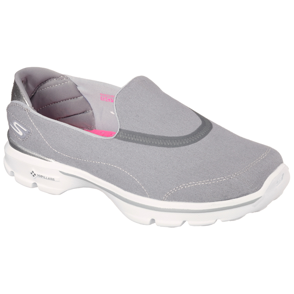 SKECHERS WOMEN GOWALK 3 - SPRING LITE Gray