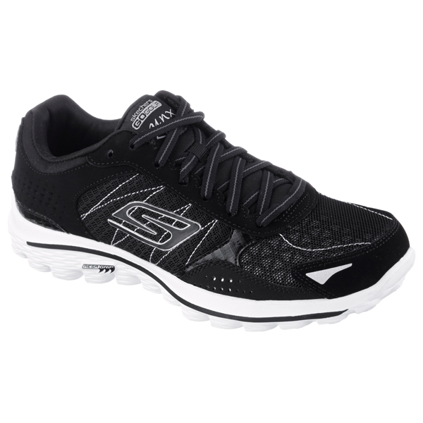 SKECHERS WOMEN GOWALK 2 GOLF - LYNX Black/White