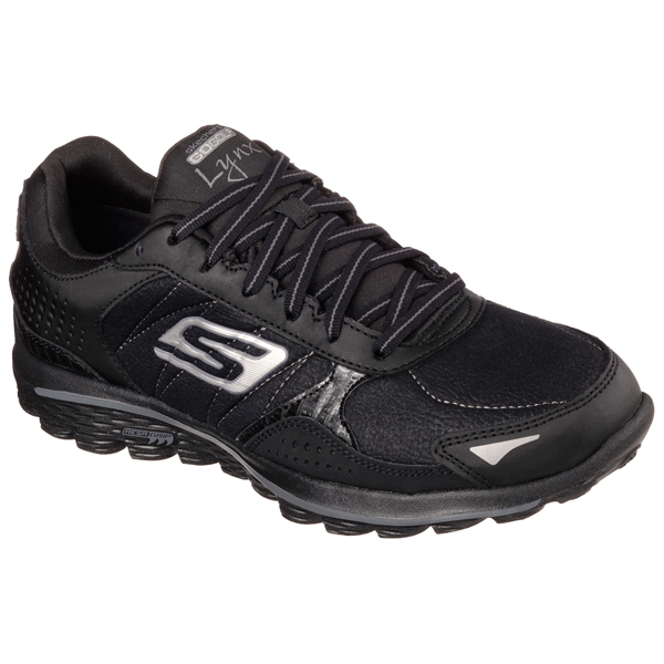SKECHERS WOMEN GOWALK 2 GOLF - LYNX LT Black