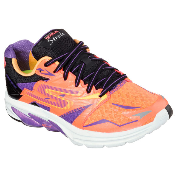 SKECHERS WOMEN GORUN STRADA Hot Pink/Purple