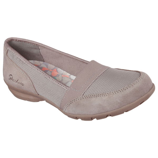 SKECHERS WOMEN RELAXED FIT: CAREER - MEETING Taupe