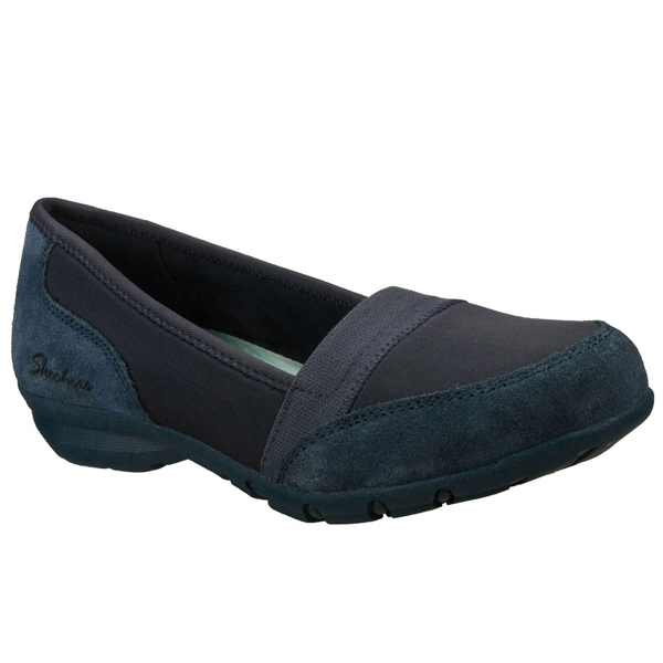 SKECHERS WOMEN RELAXED FIT: CAREER - 9 TO 5 Navy