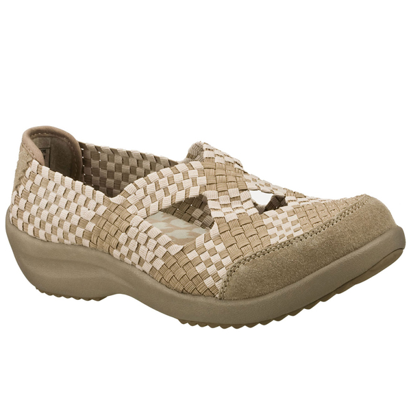 SKECHERS WOMEN RELAXED FIT: SAVOR - ENTICE Taupe