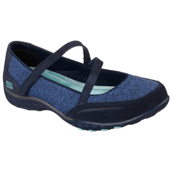 SKECHERS WOMEN RELAXED FIT: BREATHE EASY - MISS ME Navy