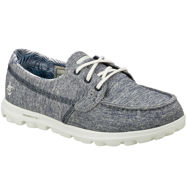 SKECHERS WOMEN ON THE GO - FLAGSHIP Navy/White