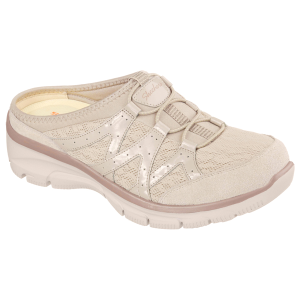 SKECHERS WOMEN RELAXED FIT: EASY GOING - REPUTE Taupe