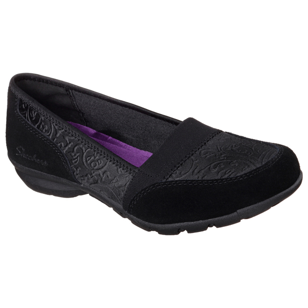 SKECHERS WOMEN RELAXED FIT: CAREER - SUBSTITUTE Black
