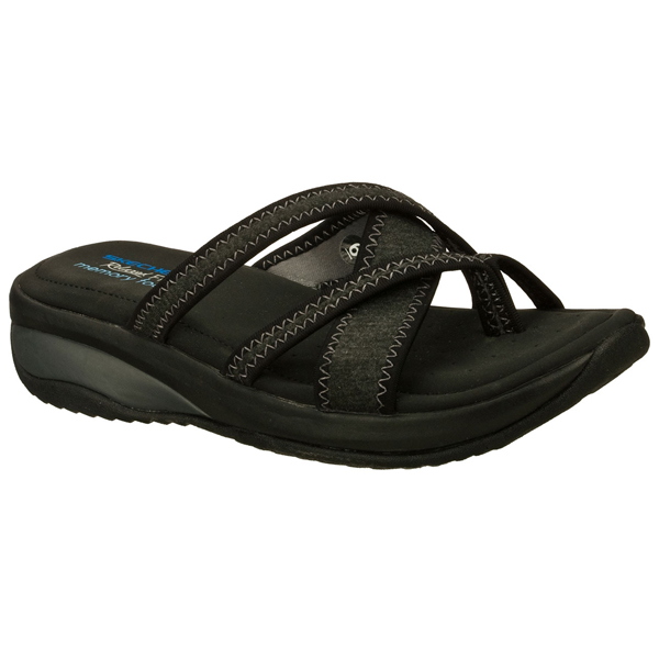 SKECHERS WOMEN RELAXED FIT: PROMOTES - EXCELLENCE Black/Charcoal