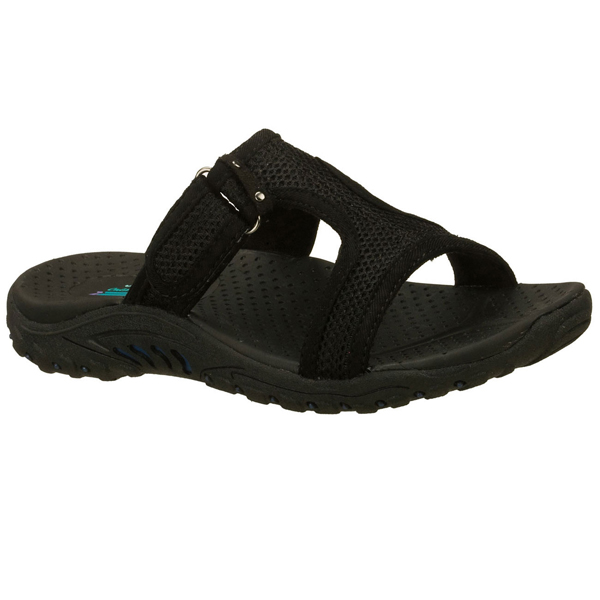 SKECHERS WOMEN REGGAE - ROCKFEST Black