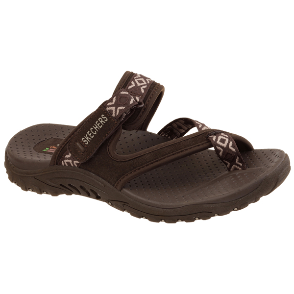 SKECHERS WOMEN REGGAE - TRAILWAY Chocolate