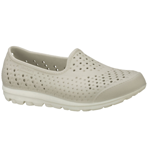 SKECHERS WOMEN H2GO Light Gray/White