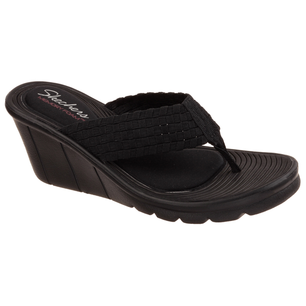 SKECHERS WOMEN PROMENADE - INTERLACE Black