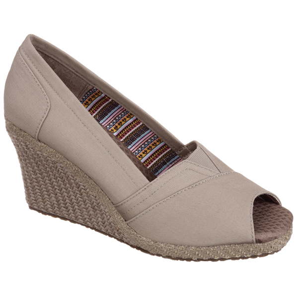 SKECHERS WOMEN CALI CLUB - SUN-SATIONAL Taupe