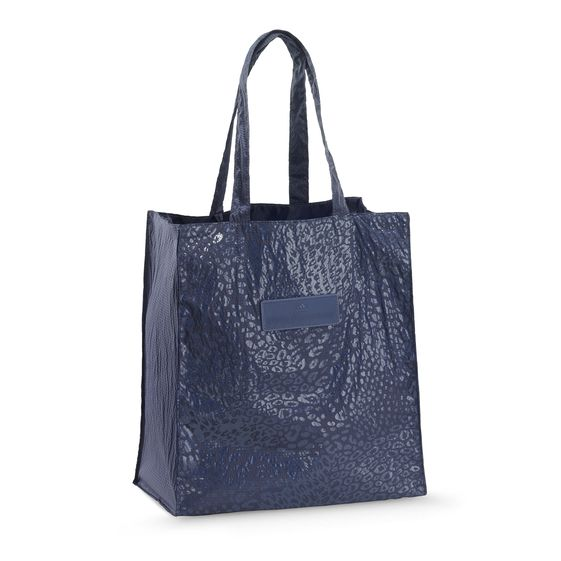STELLA MCCARTNEY BEACH FUN BAG BLUE SHADOW/DARK SKY