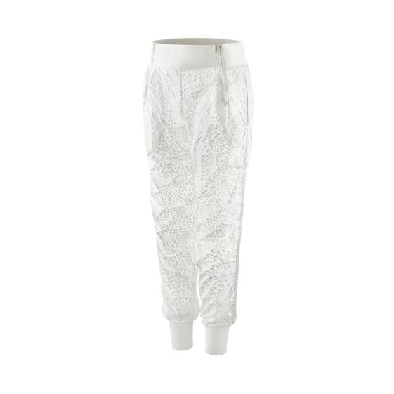 STELLA MCCARTNEY STUDIO WOVEN PANT WHITE
