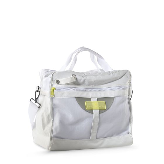 STELLA MCCARTNEY TENNIS BAG WHITE